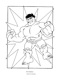 Small Picture Super Hero Coloring Coloring Page Blog