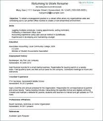 Beautiful Photos Of Stay At Home Mom Resume Template Great Volunteer
