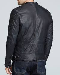 Scotch & soda Leather Jacket in Black for Men | Lyst & Gallery Adamdwight.com