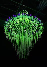 uranium glass chandelier designs