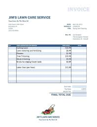Air Conditioning Invoice Sample And Hvac Invoice Template Pdf - Naf ...