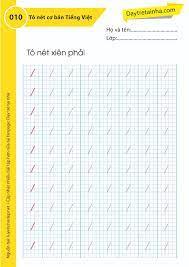 Chủ đề 10: Tập tô nét chữ cơ bản Tiếng Việt - Dạy trẻ tại nhà Sweet Book