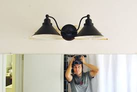 replacing an old bathroom light young