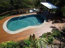 Wooden Pool Decks Pool Decking Options Advantages And Tips