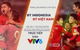 Là một trong những kênh tryền hình chính thức của đài truyền hình việt nam. Ä't Indonesia Ä't Việt Nam Mục Tieu Chiến Thắng 18h30 Trá»±c Tiếp Tren Vtv6 Vtv Vn