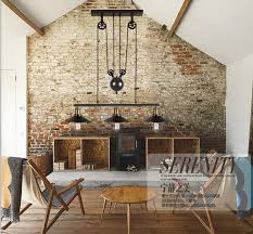 aliexpress nordic retro pendant lights american vine pendant lighting living room