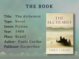 the alchemist book review  the