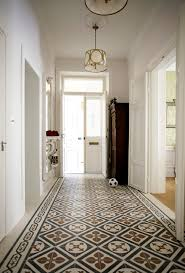 Small Picture Wall tiles design for hall entry traditional with patterned floor