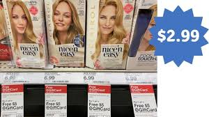 Change the color to your liking. New Clairol Printable Coupons Target Gift Card Deal Southern Savers