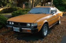 OLD PARKED CARS.: 1977 Toyota Celica GT