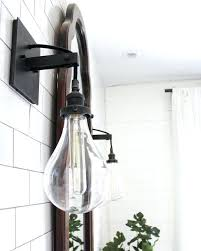 industrial bathroom vanity lighting. Unique Industrial Industrial Vanity Light Bathroom Lighting See This  Pipe Lights Ideas Mesmerizing   To Industrial Bathroom Vanity Lighting T