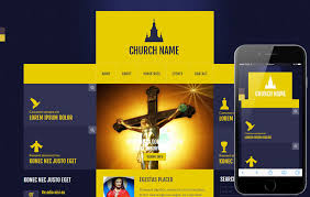 Church Website Templates Enchanting Church Templates W28layouts