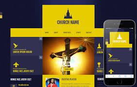 Church Website Templates Enchanting Church Templates W28layouts