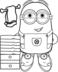 Small Picture Best Funny Minions Make Bath Coloring Page Wecoloringpage