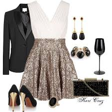 23 Mind-Blowing New Year's Eve Outfit Ideas 2016 - 2017. Christmas Party ...