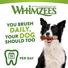 Whimzees Natural Dental Dog Treats XX Small <b>Toothbrush</b> Star, 1 x ...