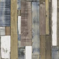 rasch authentic wooden plank wallpaper