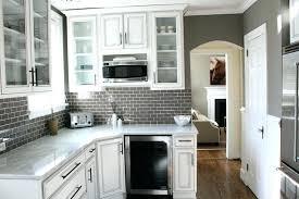 kitchen backsplash white cabinets simple gray tile kitchen backsplash white cabinets grey countertop