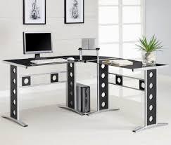 modern white office desks. home decor astounding modern desks for office contemporary white