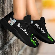Rick And Morty Sneakers Funny Shoes Fan Gift Idea PT19 – Wear Wanta
