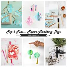 paper marbling diy s i colorbarn i for the