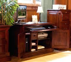 atlas oak hidden home office. Baumhaus Atlas Solid Oak Hidden Home Office Computer Desk Hampton White Painted Furniture Hideaway Fendi Design