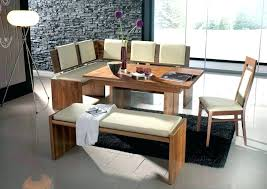 l shaped kitchen table residential booth seating bench corner with image of