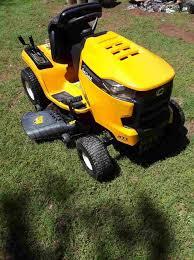 2019 cub cadet xt1 lt42 riding lawn
