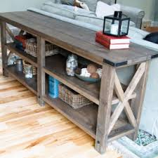wood console table3