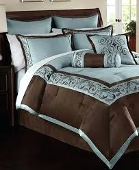 blue king size comforter sets. Blue And Brown King Size Comforter Set Sets