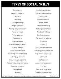 Social Skills You Should Be Targeting In Speech Therapy