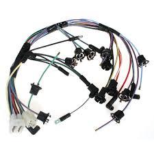 mustang instrument cluster wiring harness w o factory tachometer 1968 instrument cluster wiring harness tachometer 1968