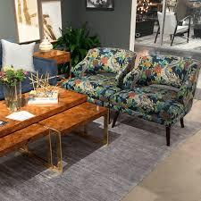 dwell studio furniture. Dwell-Studio-Chiang-Mai-Dragon-Schumacher-burled-coffee-table-mid-century- Chairs-design-bloggers-tour-high-point-market-fall-2015 Dwell Studio Furniture