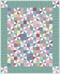Pinwheel Fancy Quilt Free Pattern: Robert Kaufman Fabric Company &  Adamdwight.com