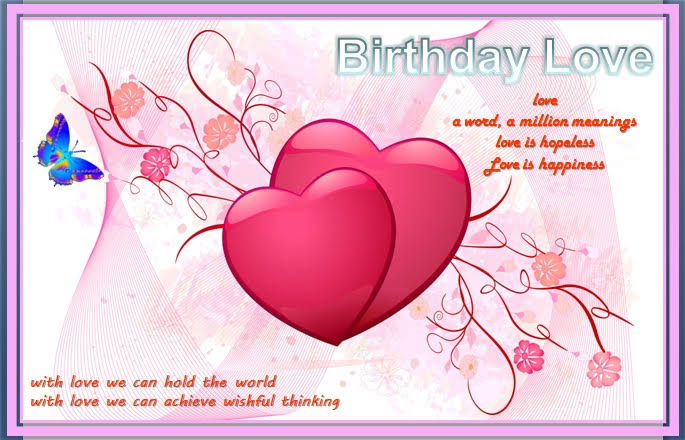 romantic birthday sms for girlfriend in hindi