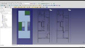 Freecad Arch - Generating Floor Plans From Sectionplane - YouTube