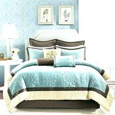 teal comforter set queen blue and yellow sets ordinary comforters excellent brown bedding