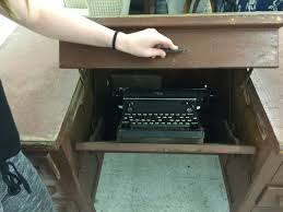 vintage typewriter and with tuck away feature 1948 49
