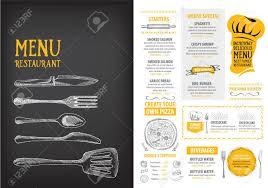 Cafe Menu Template Restaurant Cafe Menu Template Design Food Flyer