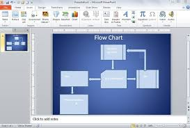 How To Create Flow Chart In Powerpoint How To Create Flow Chart Diagram In Powerpoint 2010
