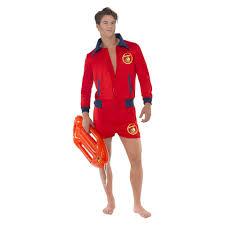 the ultimate revelation of baywatch men s smiffy s baywatch liuard costume l multicolored