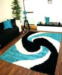 blue grey black area rug teal and black area rug modern gy rugs blue thick easy