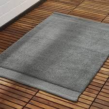 surface dark grey bath mat