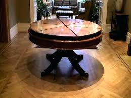 round expandable dining room table stunning design ideas
