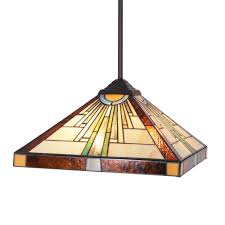 Discount Tiffany Style Lighting Bonlicht Tiffany Pendant Lighting Antique Tiffany Style 3 Light 16 Inch Stained Glass Shade Orb