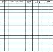 Printable Check Register Book Printable Check Template Construktor Info