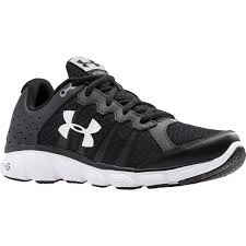 under armour running shoes black and white. under armour men\u0026rsquo;s micro g\u0026reg; assert 6 running shoes - black under armour black and white r