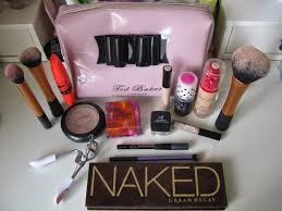 inspiring whats in my cur makeup bag emily grace best bags for artists 2751 full