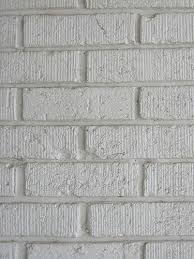 painting brick whitePainting over White Brick Fireplace