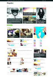 Newspaper Website Template Free Download Best News Website Templates Pepino Co
